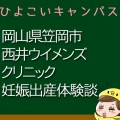岡山県笠岡市西井ウイメンズクリニックの産婦人科での妊娠出産口コミ