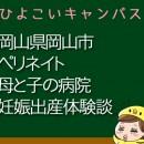 岡山県岡山市ペリネイト母と子の病院の産婦人科での妊娠出産口コミ