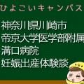 神奈川県川崎市帝京大学医学部附属溝口病院の産婦人科での妊娠出産口コミ