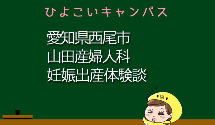 愛知県西尾市山田産婦人科の産婦人科での妊娠出産口コミ