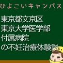 東京都文京区東京大学医学部付属病院の不妊治療、不妊外来口コミ